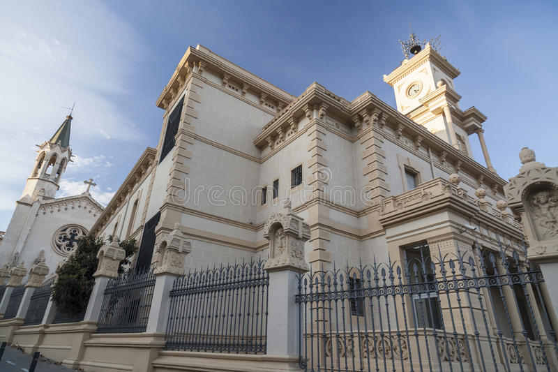 Sant Boi Llobregat, Catalonia, Hiszpania obraz royalty free