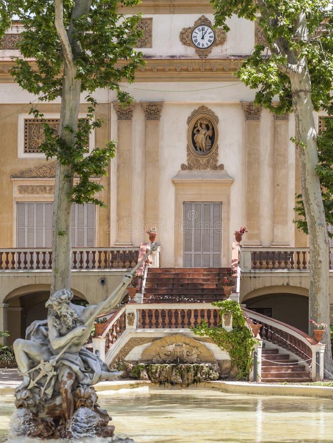 Sant Feliu de Llobregat, Catalogna, Spagna fotografia stock libera da diritti
