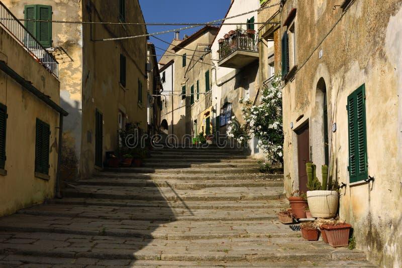 Sant Ilario en Campo, Elba, Toscana, Italia fotografía de archivo