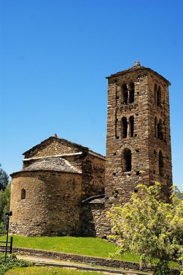 Sant Joan de Caselles Canillo, Andorra fotografering för bildbyråer