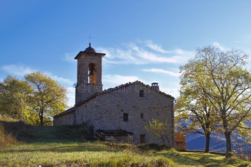 Sant Julia de Freixens Catalunya fotografía de archivo libre de regalías