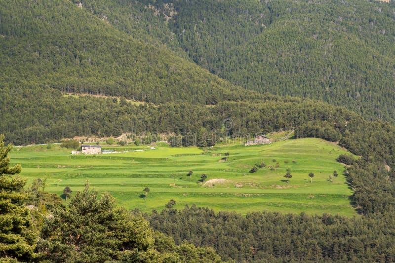Sant Julia de Loria, Andorra immagini stock libere da diritti