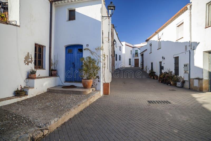 Sant Pere de Ribes, Καταλωνία, Ισπανία στοκ εικόνες