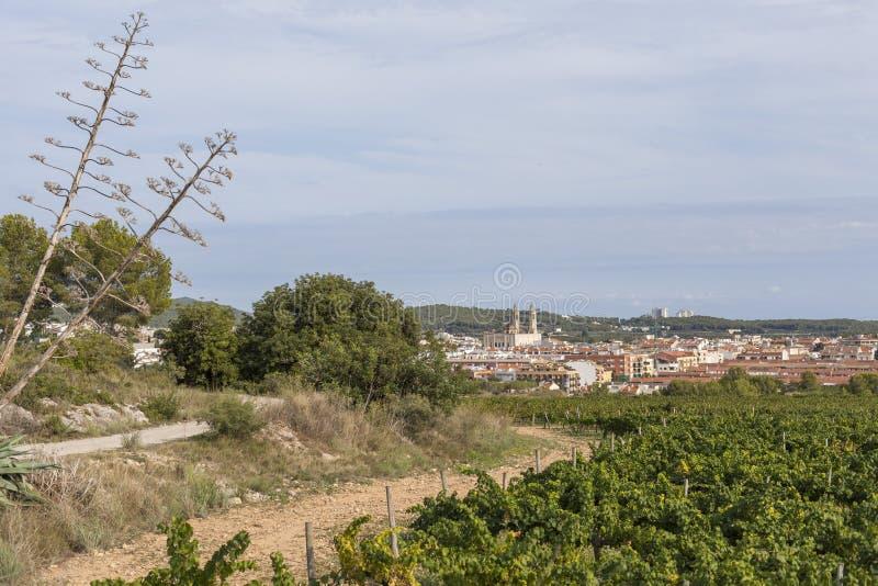 Sant Pere de Ribes, Καταλωνία, Ισπανία στοκ φωτογραφία