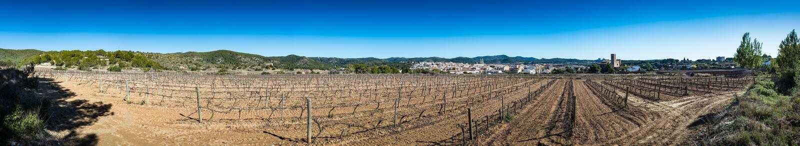 Sant Pere de Ribes Castle, Ισπανία στοκ εικόνες με δικαίωμα ελεύθερης χρήσης
