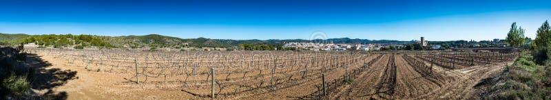 Sant Pere de Ribes Castle, Espagne images libres de droits