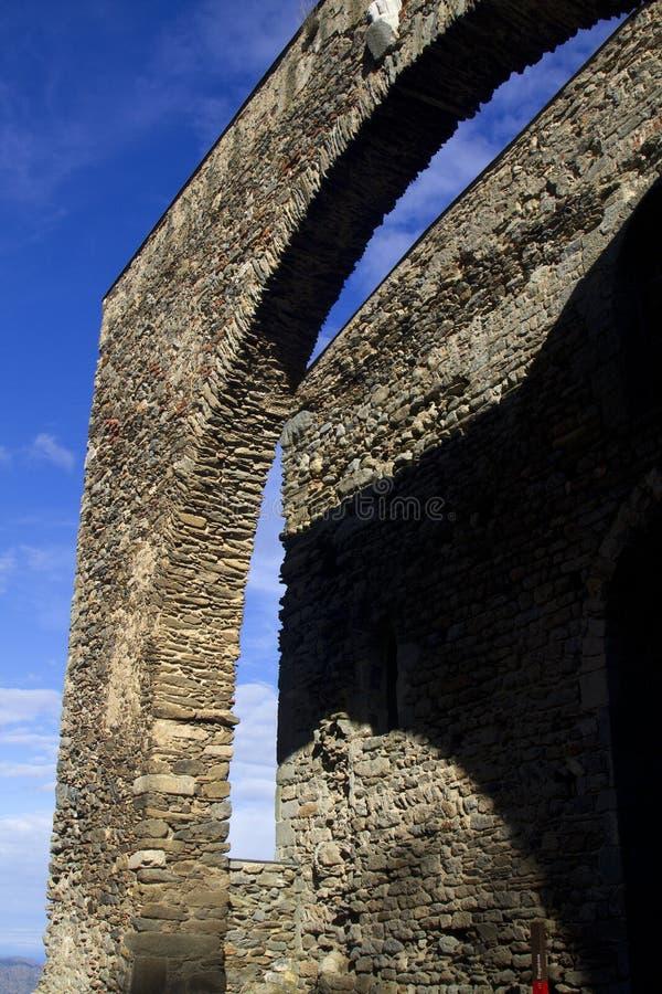 Sant Pere de Rodes Monastery photographie stock libre de droits