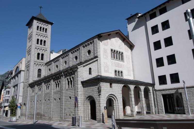 Sant Pere Martir in escaldes-Engordany, Andorra royalty-vrije stock afbeelding