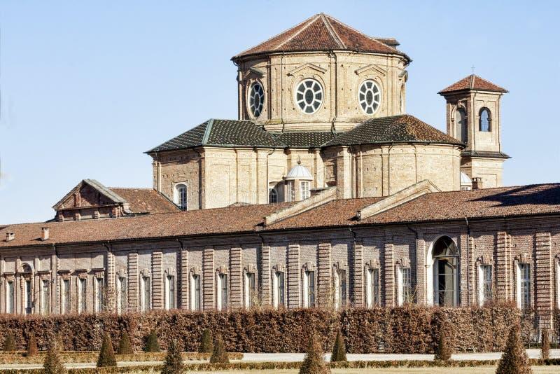 Sant Uberto Church - Venaria Reale imagens de stock