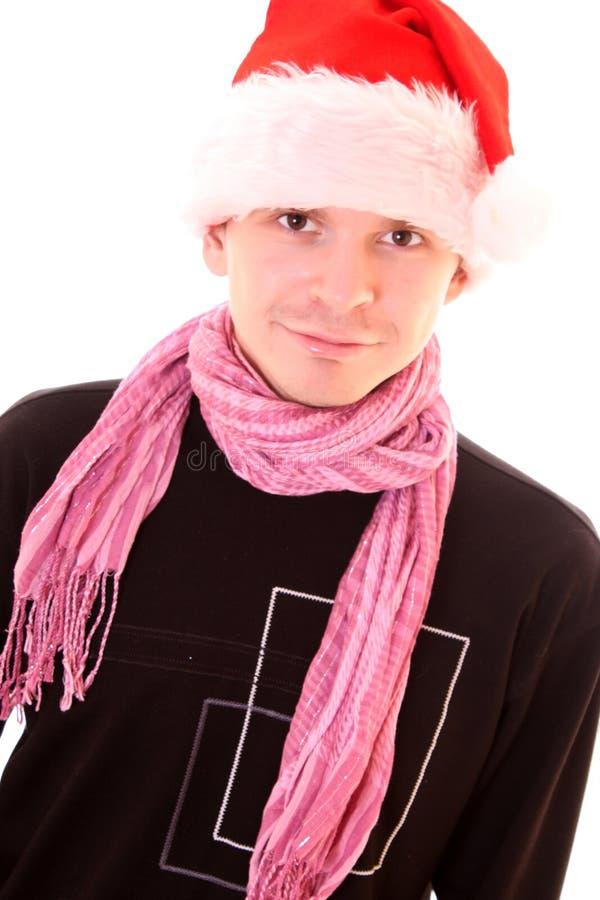 santa ατόμων καπέλων στοκ εικόνες με δικαίωμα ελεύθερης χρήσης