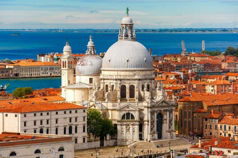 santa Βενετία χαιρετισμού της Ιταλίας Μαρία della βασιλικών στοκ φωτογραφία με δικαίωμα ελεύθερης χρήσης