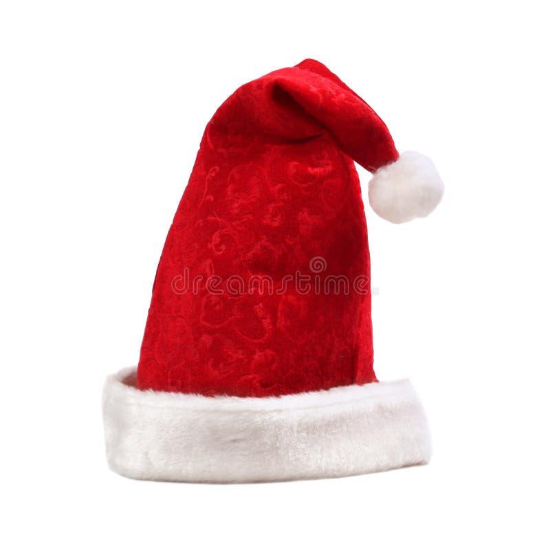 Download Santa καπέλων στοκ εικόνες. εικόνα από ανασκόπησης, μαλλιαρός - 1532616