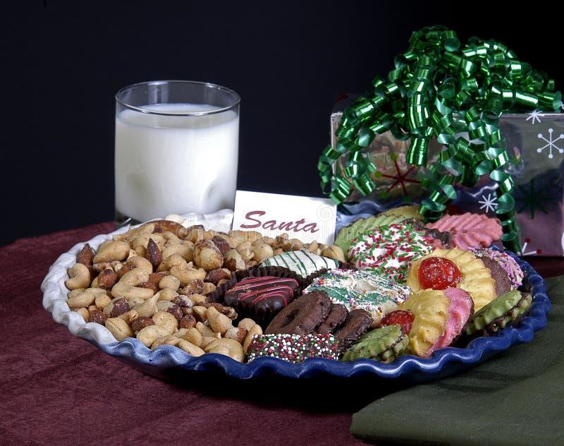 santa μπισκότων στοκ εικόνα με δικαίωμα ελεύθερης χρήσης