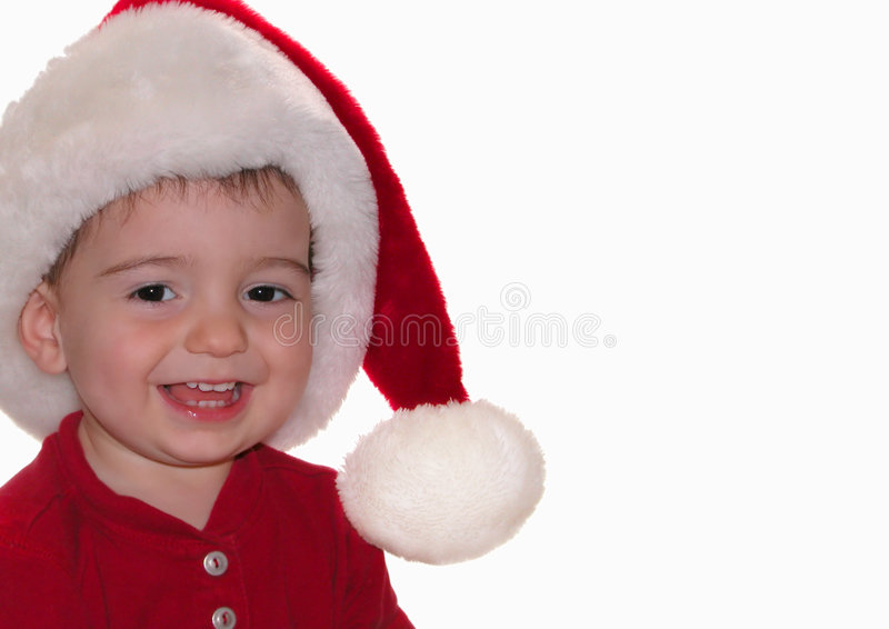 santa μωρών στοκ εικόνες