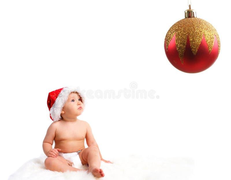 santa μωρών στοκ εικόνες με δικαίωμα ελεύθερης χρήσης