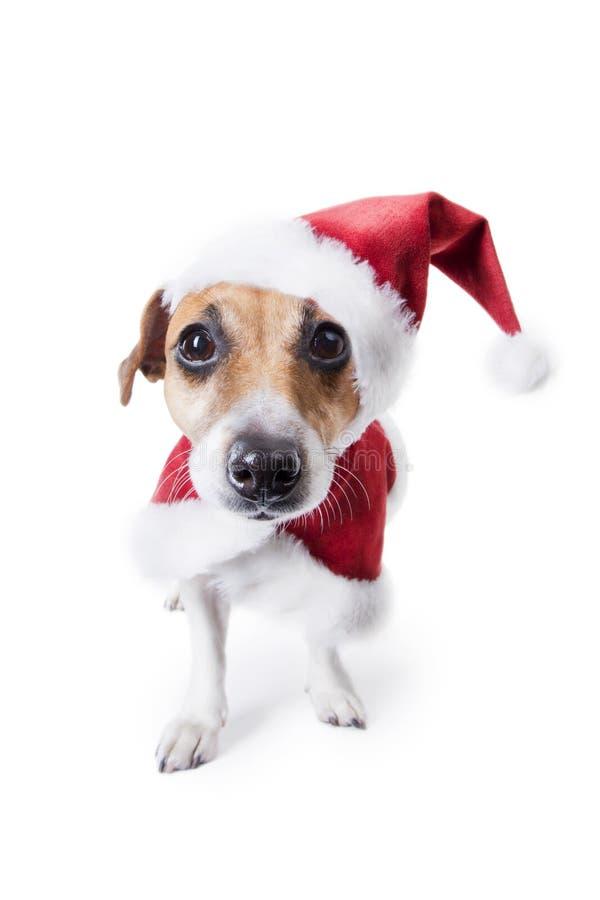 Santa που προσέχει σας! στοκ φωτογραφία