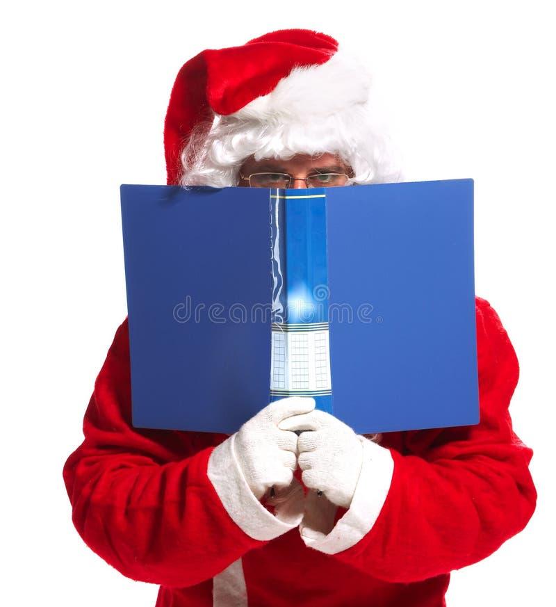 santa προτάσεων Χριστουγέννω&nu στοκ εικόνα με δικαίωμα ελεύθερης χρήσης