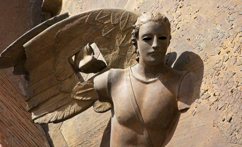 santa της Μαρίας Ρώμη πυλών degli angeli αγγέλου στοκ φωτογραφίες με δικαίωμα ελεύθερης χρήσης