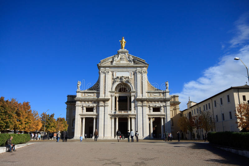 santa της Μαρίας degli angeli στοκ εικόνα με δικαίωμα ελεύθερης χρήσης