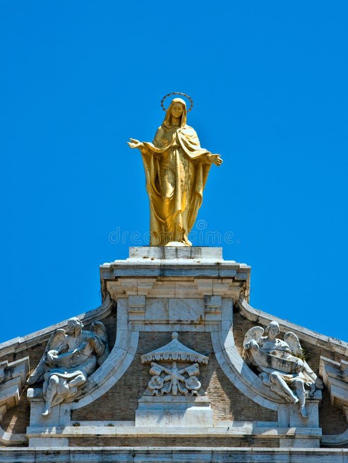 santa της Μαρίας degli angeli στοκ φωτογραφία