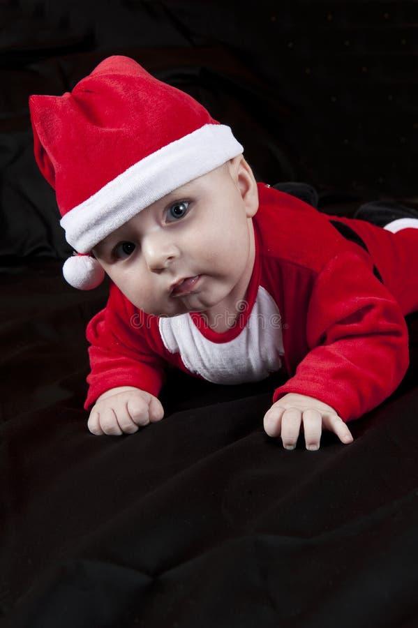 Download Santa Χριστουγέννων μωρών στοκ εικόνες. εικόνα από δεκέμβριος - 22792412