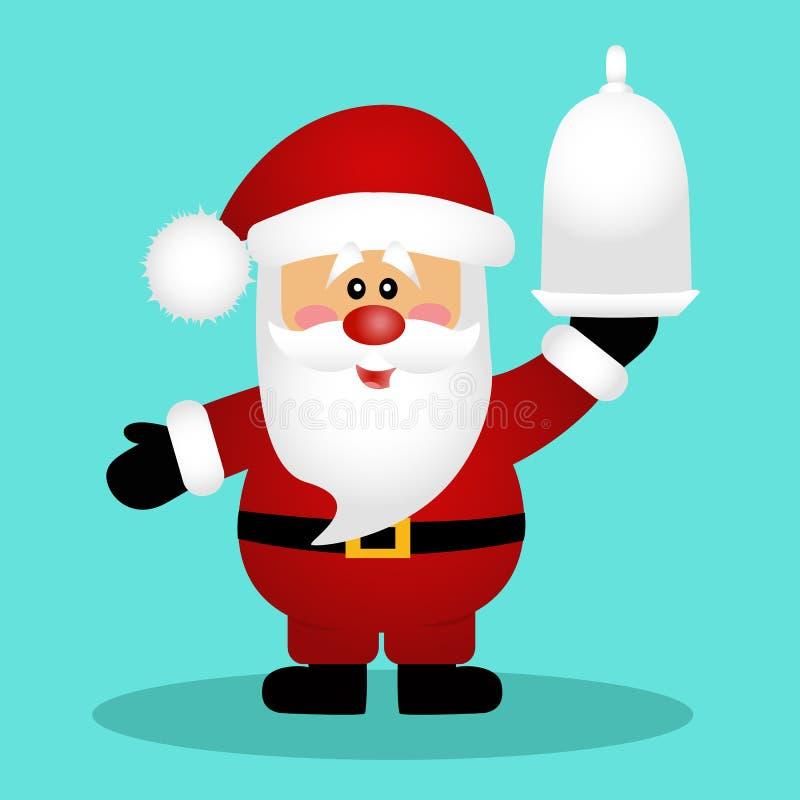 santa рождество украшает идеи обеда свежие домашние к бесплатная иллюстрация