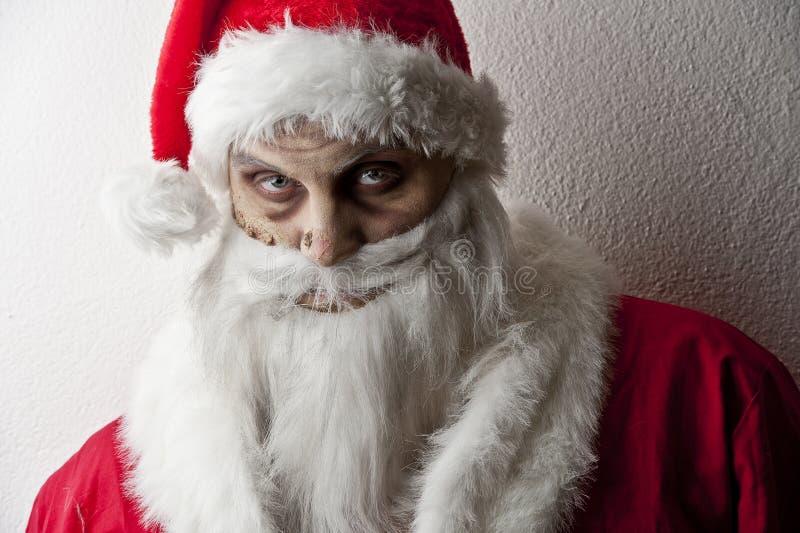 Santa страшный Стоковая Фотография RF