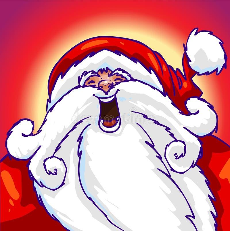 Download Santa stock illustration. Illustration of holiday, graffiti - 1508837
