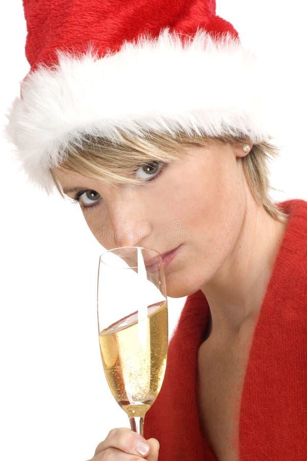 Download Santa στοκ εικόνα. εικόνα από μοντέλο, αφρώδεις, σπινθήρισμα - 1525601