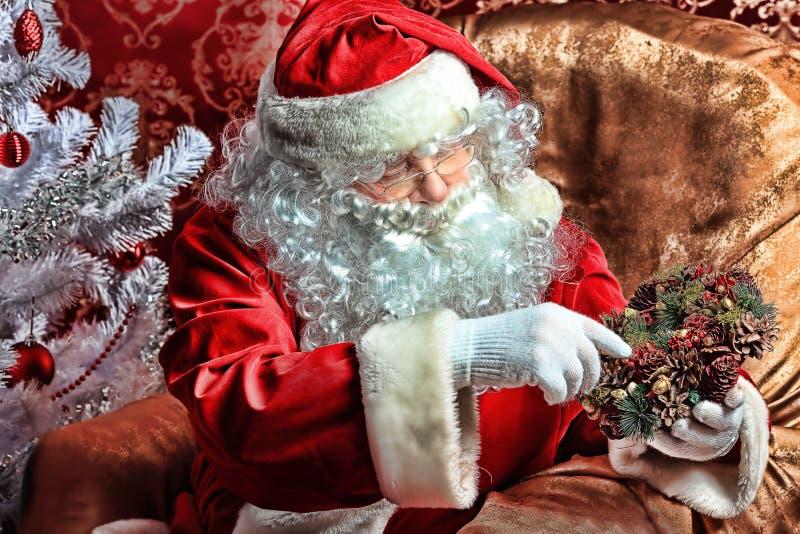 Download Santa stock photo. Image of clause, celebration, sale - 16929814