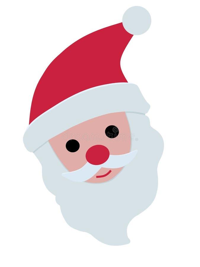 Santa ilustração stock