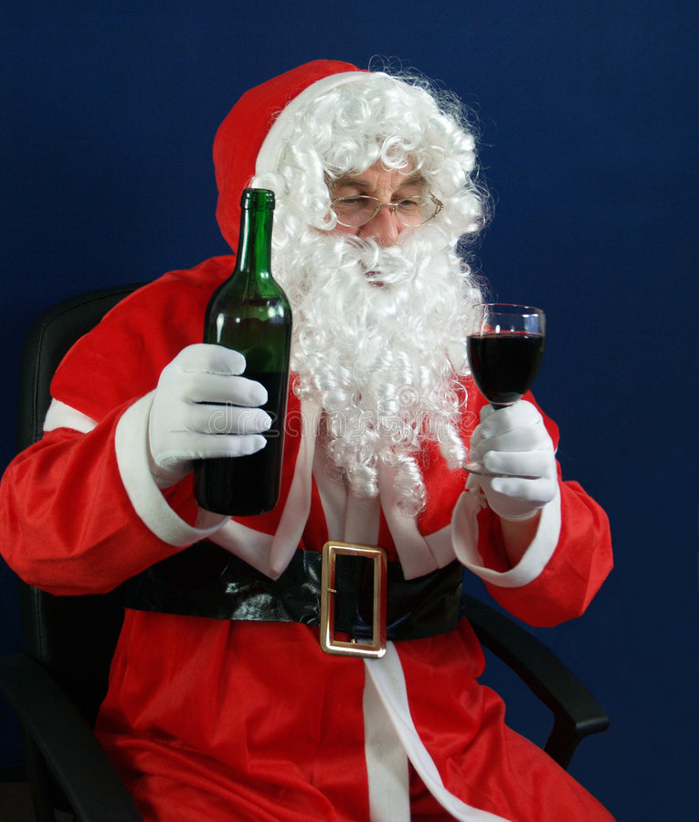 Download Santa stock photo. Image of glasses, smile, saint, claus - 2499234