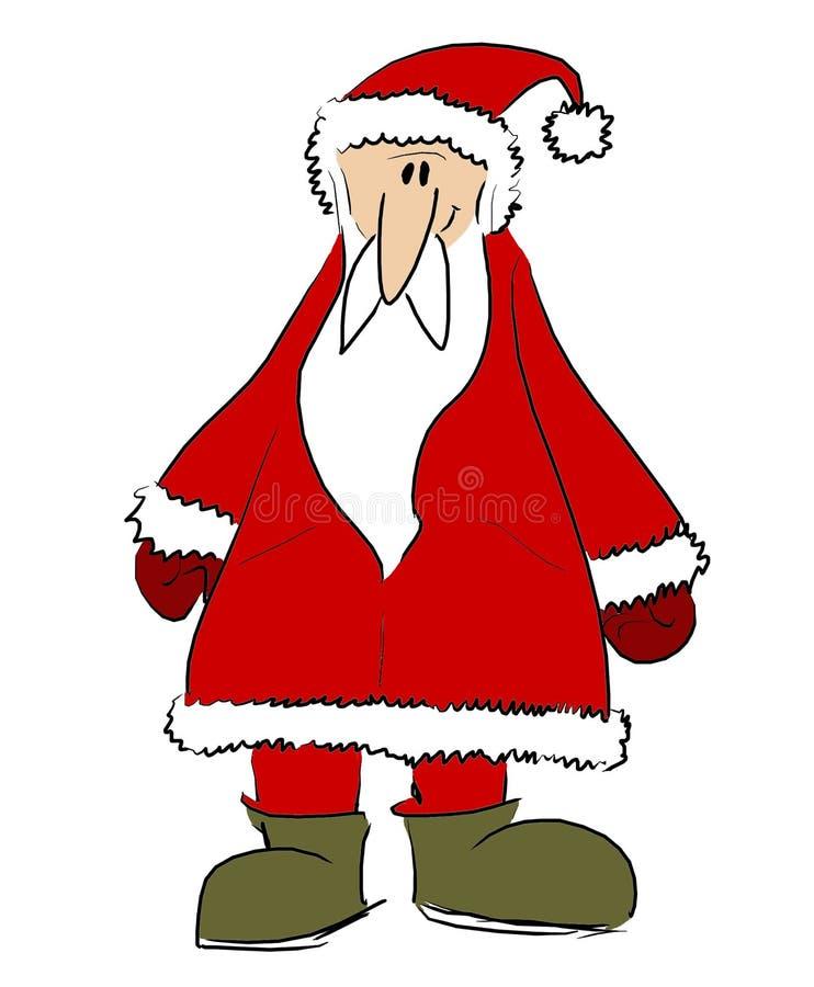 Download Santa 3 ilustração stock. Imagem de saint, feriados, surpresa - 50083