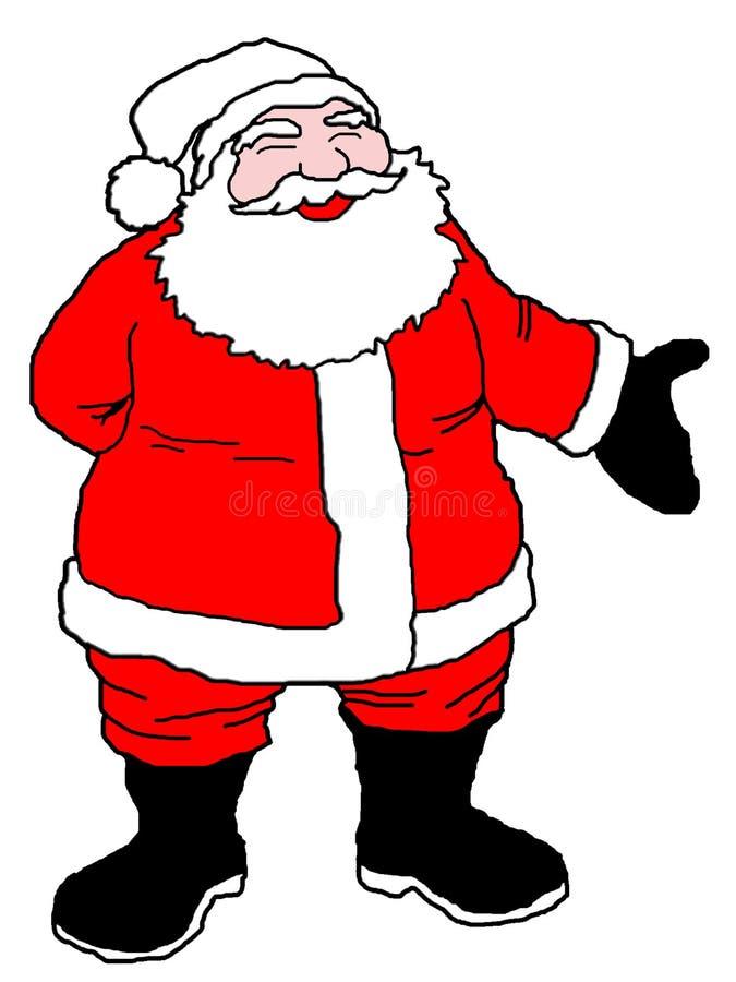 Download Santa απεικόνιση αποθεμάτων. εικονογραφία από διακοπές - 383655