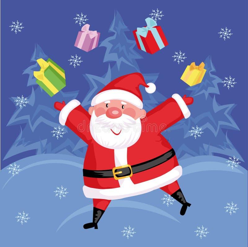 Download Santa stock vector. Image of grey, boots, christmas, holiday - 5281925