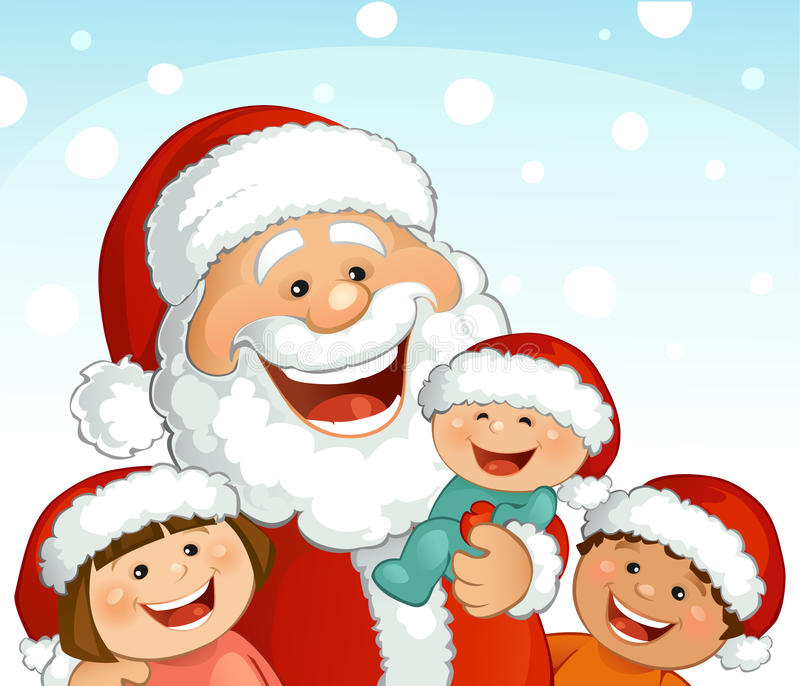 santa royalty illustrazione gratis
