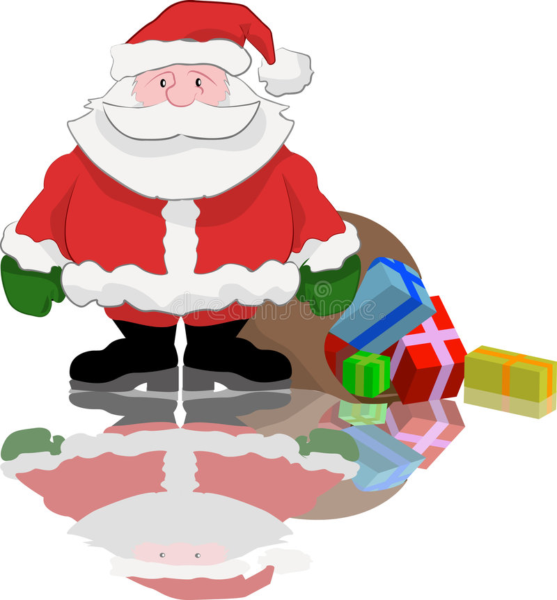 Download Santa stock vector. Image of kringle, pressies, father - 668910