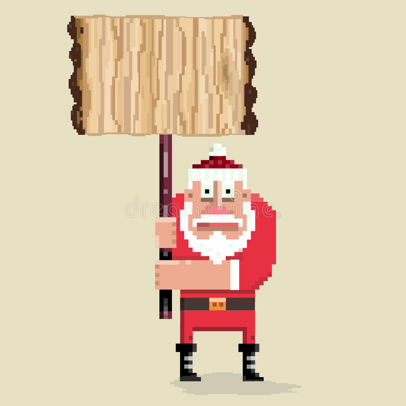 Santa_8 ilustração do vetor