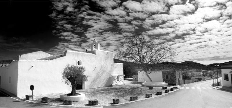 Santa Agnes de Corona dans Ibiza photo stock