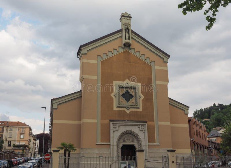 Santa Agnese-Kirche in Turin lizenzfreie stockfotos