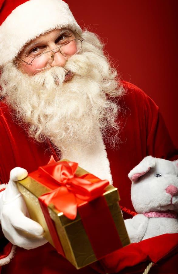 Santa aimable photo libre de droits