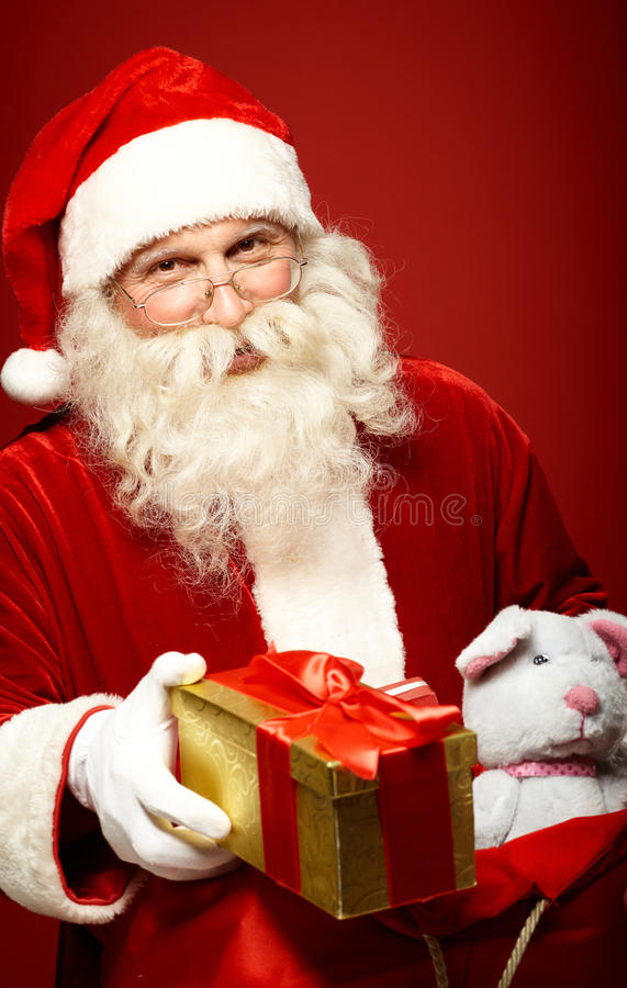 Santa aimable photographie stock