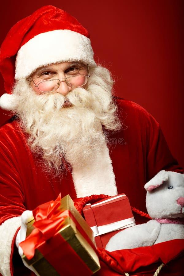 Santa aimable photographie stock libre de droits