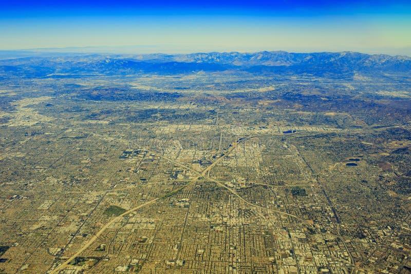 Santa Ana à partir de dessus images stock