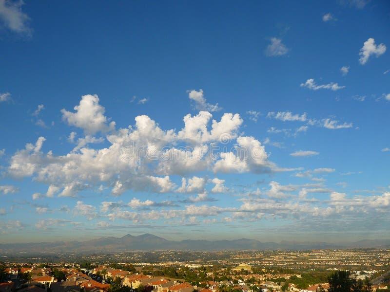 Santa Ana-bergen royalty-vrije stock afbeeldingen