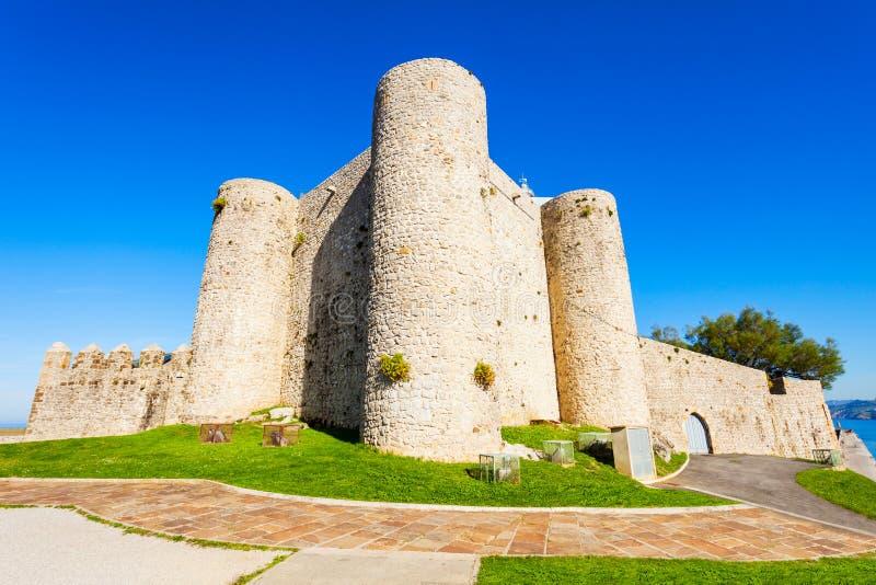 Santa Ana Castle, Castro Urdiales fotografía de archivo