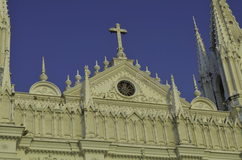 Download Santa Ana Catholic Cathedral Stock Photo - Image of birds, construction: 36926884