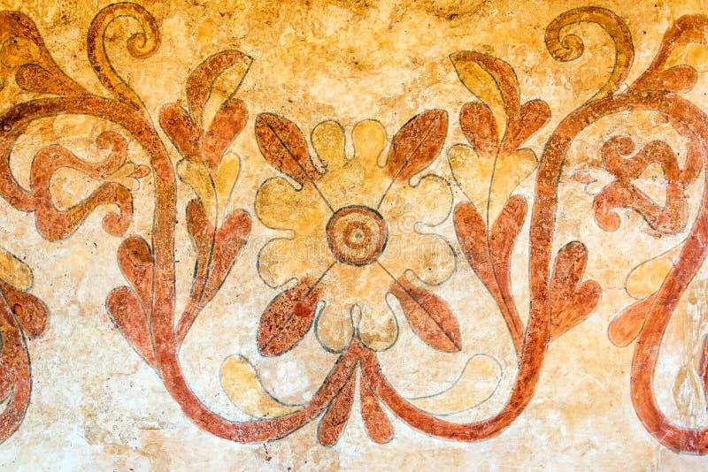 Santa Ana Church Artwork Closeup imagen de archivo libre de regalías