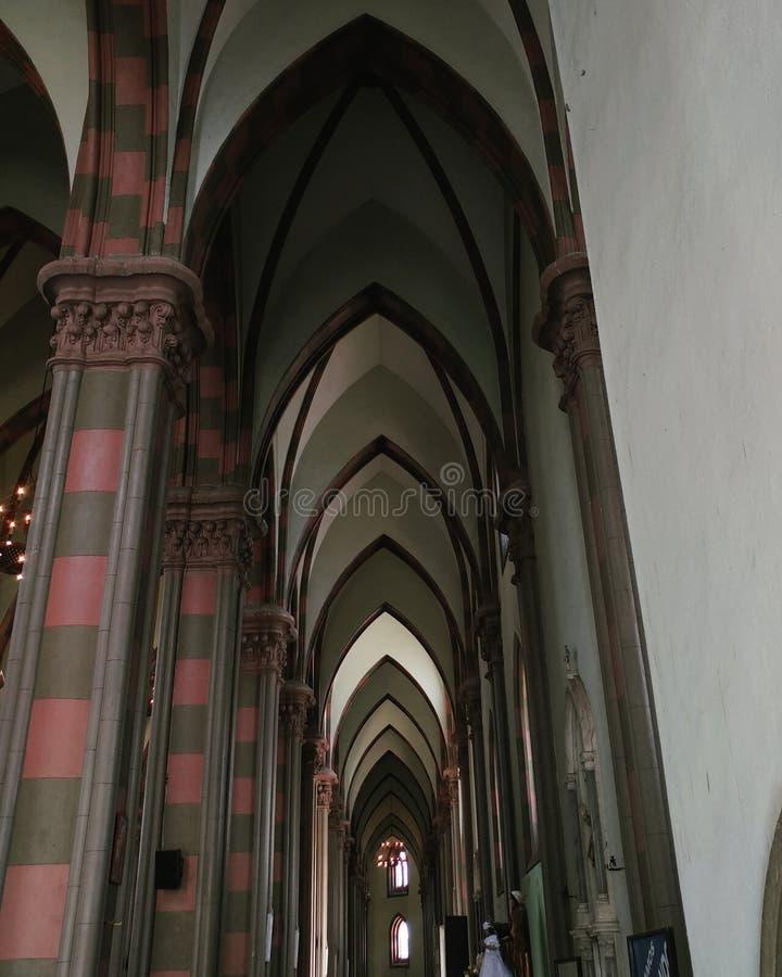 Santa Ana kyrka arkivbild