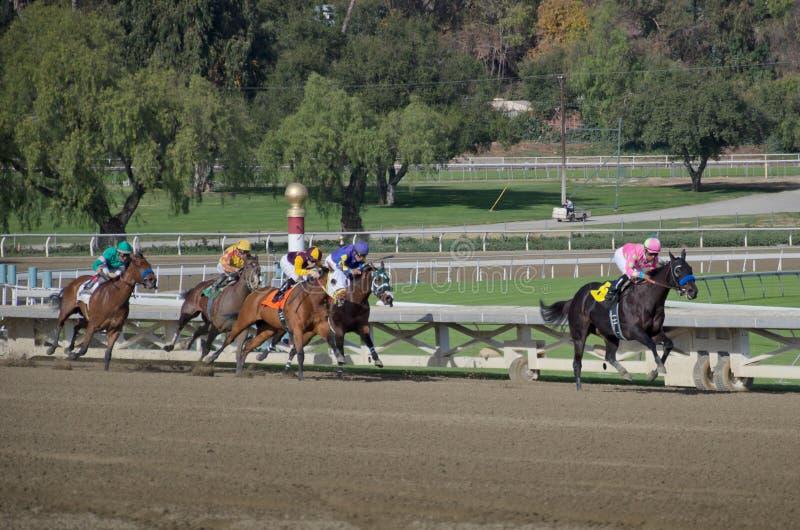 Santa Anita Racetack immagine stock
